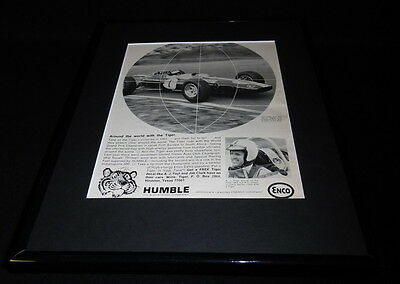 1966 Humble Oil & Refining Co 11x14 Framed ORIGINAL Vintage Advertisement B