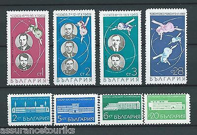 BULGARIE - 1969 YT 1744 à 1751 - TIMBRES NEUFS** LUXE