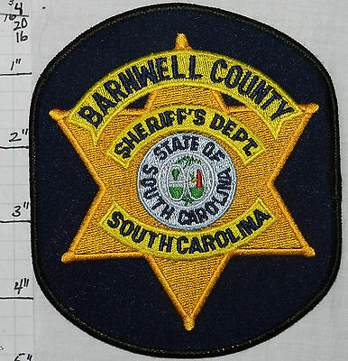 South Carolina, Barnwell County Sheriff's Dept Patch