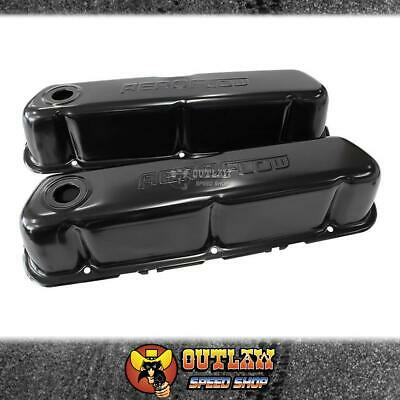 Ford 289-351W Sbf Valve Cover Black With Aeroflow  - Af1822-5002