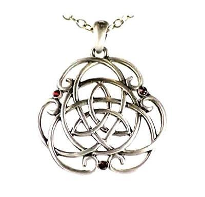 Celtic Knot Triquetra Necklace  - Pewter