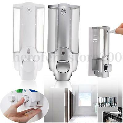 AU Kitchen Bathroom Wall Mounted Shower Body Lotion Shampoo Soap Dispenser Pump