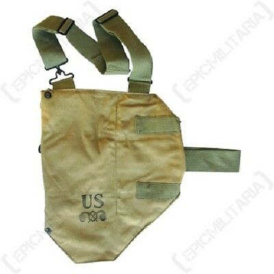 Original US Army M1VA1 GAS MASK BAG Holder M2A1/M2A2 Shoulder Carry Case WW2