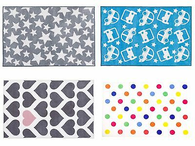 Nursery Kids 150 x 100cm Rug Play Floor Mat Various Designs Available