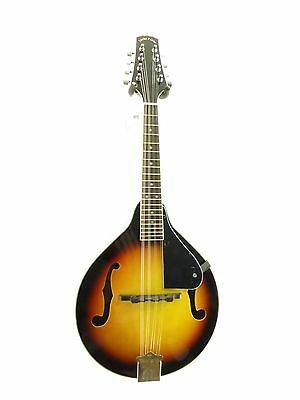 "Lucky Penny ""A"" Style Violinburst Finish Bluegrass Mandolin geared tuners LPM20"