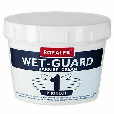 Rozalex Wet Guard Barrier Cream 450ml Tub Hand / Sanitiser / Protection