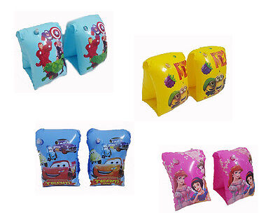 Kids Inflatable Swimming Aid Arm Bands Armband Training Float Swim Safety Pool