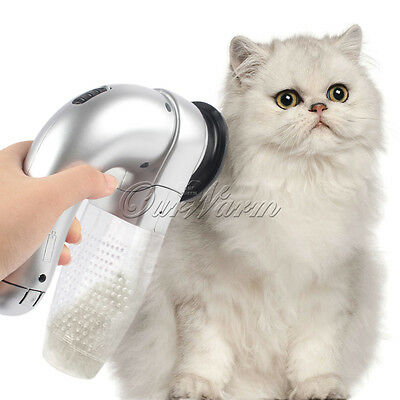Quite Electric Pet Dog Shed Pal Cordless Pet Vac Hair Brushing Cleaner Cat Groom