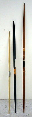 LOT OF 3 VINTAGE BOWS, INDIAN ACHERY 1960S, IMPALA, INDIAN No 24