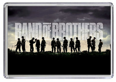 Band of Brothers Fridge Magnet