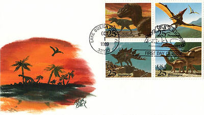 #2422-25 Dinosaurs Beck FDC (31019892422-25001)
