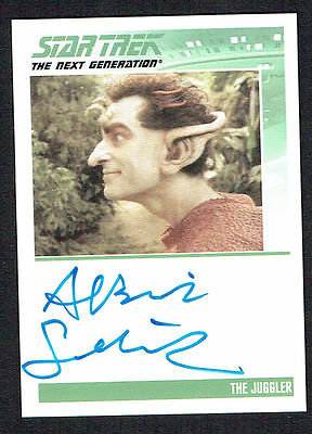 Albie Selznicki signed autograph auto The Juggler 2010 Star Trek Trading Card