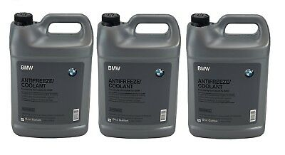 PACK OF 3 Gallons GENUINE BMW Engine Coolant Antifreeze Fluid Blue Concentrated