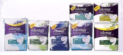 Always Discreet For Sensitive Bladder Pads - Choose Your Option