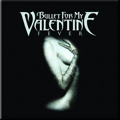 "BULLET FOR MY VALENTINE Fever fridge magnet 3"" square metal gift free UK P&P"