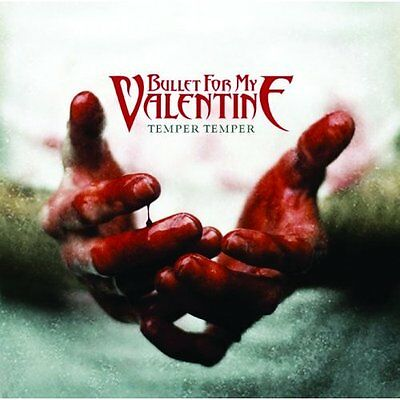 "BULLET FOR MY VALENTINE Temper fridge magnet 3"" square metal gift free UK P&P"
