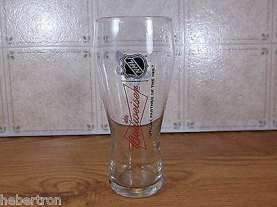 Collectible Budweiser NHL Phoenix Coyotes  Beer Glass