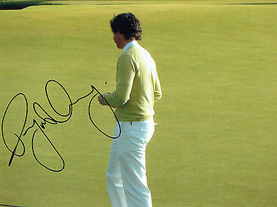 Rory McILROY Rare SIGNED AUTOGRAPH Golf Photo AFTAL COA Ryder Cup Winner