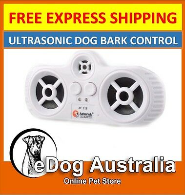 AT-188 Dog Ultrasonic Anti Bark Stop Barking Control Repeller Remote Trainer