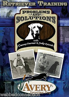Avery Sporting Dog Retriever Training Duck Basics Problems and Solutions DVD