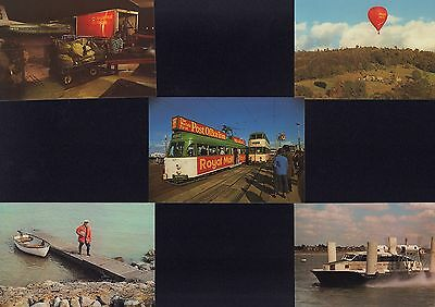 (85524) Postcards Transport x5 NWPB 7a - 7e Post Office issued mint un-posted