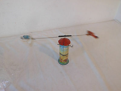 TECHNOFIX - FLIEGERTURM - Nr. 256 v.1950 VINTAGE TINTOY GERMANY TOWER AEROPLANES
