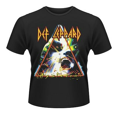 DEF LEPPARD T-Shirt Hysteria Album All Sizes NEW OFFICIAL Logo Animal Love Bites