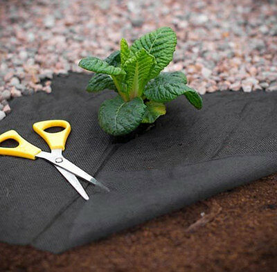 Heavy Duty Weed Control Woven Fabric Ground Cover Mulch Membrane Lining Mat