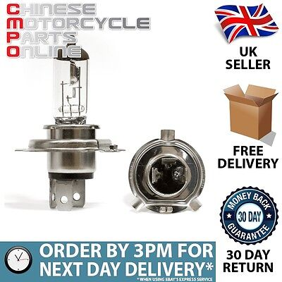 Motorcycle Headlight Bulb H4 P43T 12V 35/35W for Lexmoto Adrenaline 125