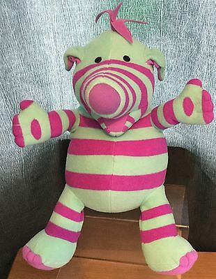 The Fimbles / Fisher Price 12 Inch Fimbling Feeling Florrie Talking Soft Toy Exc