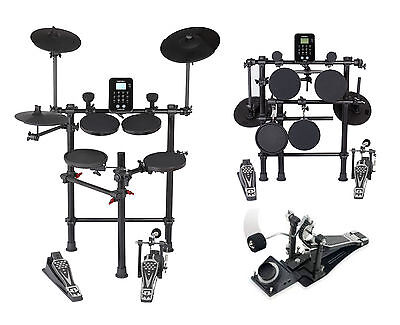 Medeli DD620BX Digital Electronic Drum Kit With Headphones Sticks Percussion