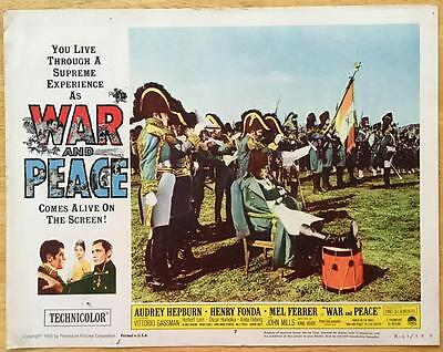 Herbert Lom as Napoleon War and Peace  RR 1963 # 7 lobby card poster photo 378