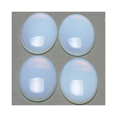 Packet 20 x Clear Glass Flat Back 14mm Coin 5.5mm Thick Cabochon Y02910