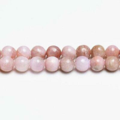 Kunzite Round Beads 6mm Pink 10 Pcs Gemstones DIY Jewellery Making Crafts