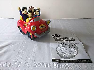 2008 The Wiggles Wiggle N Giggle Big Red Car Musical Play Along Jakks Pacific