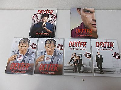 @ 2 Dexter The Sixth and Seventh Seasons 2 4 disc sets complete