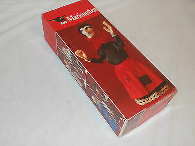 PLAY BIG - MARIONETTEN - HEXE OVP - VINTAGE TOY - 70èr JAHRE GERMANY MARIONETTE