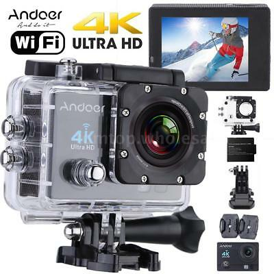 WiFi 4K HD 1080P 170° Waterproof SJ4000 Sports DV Action Camera Video Camcorder