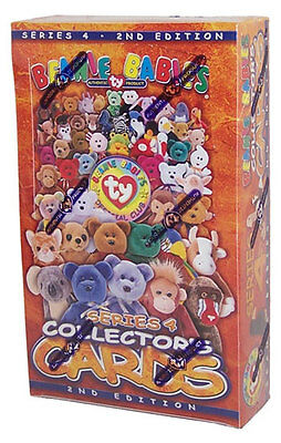 TY Beanie Babies Collectors Cards (BBOC) - Series 4 - Sealed Box (24 packs) -New