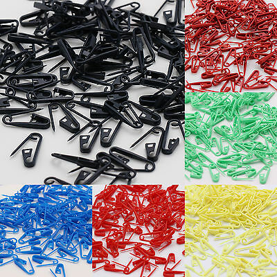 Newest 100Pcs Knitting Craft Crochet Locking Stitch Needle Clip Markers Holder