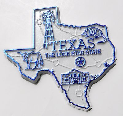 Texas Lone Star Us State Flexible Magnet 2 Inches