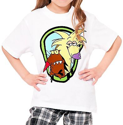 The Angry Beavers Girls Kid Youth T-Shirt Tee Age 3-13 New