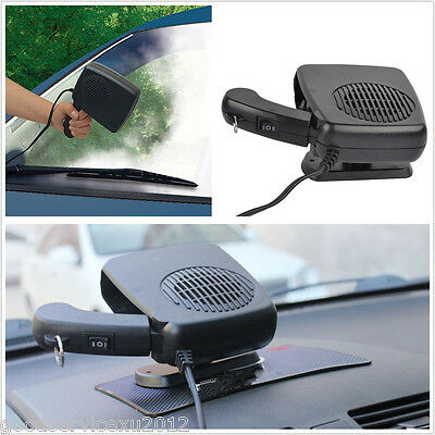 Portable 12V 150W Vehicles Ceramic Heater Heating Cooling Fan Defroster Demister