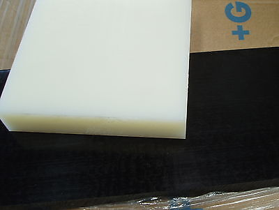 NYLON 66 Nat Plate 25 mm thickness various size pieces