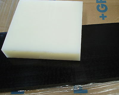 NYLON 66 Nat Plate 40 mm thickness various size pieces