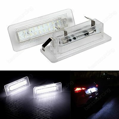 Smart Fortwo W451 Canbus LED License Number Plate Light Lamp 2007-2015 No Error