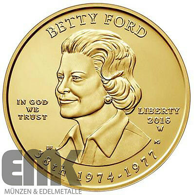 USA - 10 Dollar 2016 - Betty Ford - Präsidentengattinnen der USA (38.)