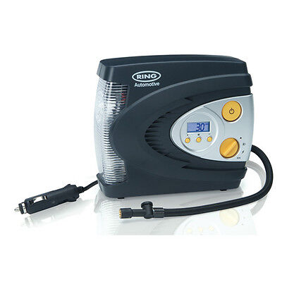 Rac630 Ring 12V Automatic Digital Air Compressor With Led Light (Compressors)