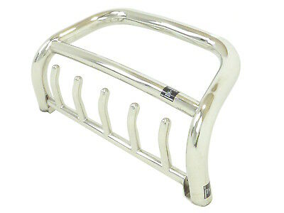 Fits Nissan Qashqai 14-On Stainless Steel Silver Axle Guard Nudge Bull Bar A-Bar