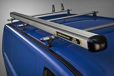 Van Guard Universal 3M Standard Aluminium Tube Roof Pipe Carrier Twin Opening